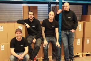 Kalle, Padde, Johan & Martin - Plock & Pack