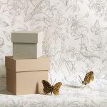 Florens tapeter midbec fjärilar tapetnyheter