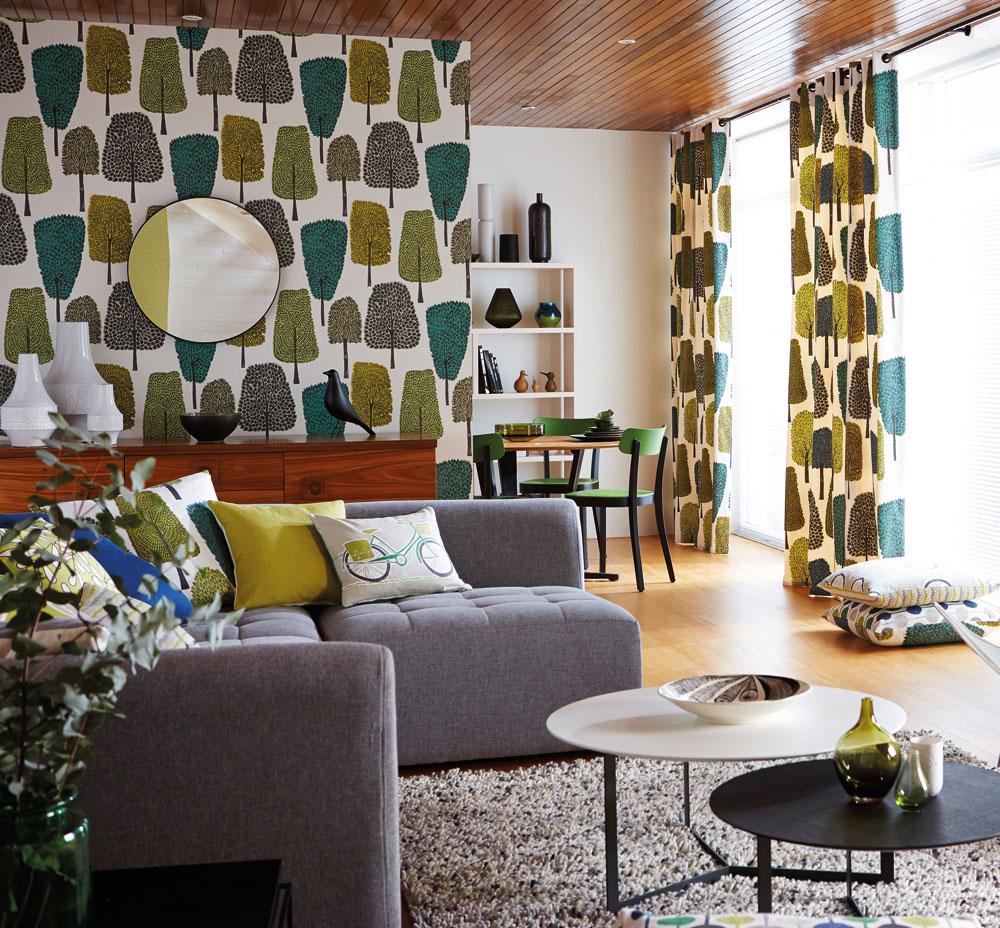 Förvandla ditt vardagsrum till en härlig oas i retrostil - Midbec ...