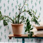 Tapetkollektionen Cactus