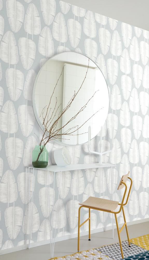 så lyckas du med dina mönstrade väggar spegel midbec tapeter