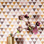 tapetnyheter midbec kurioza geometriskt mönster