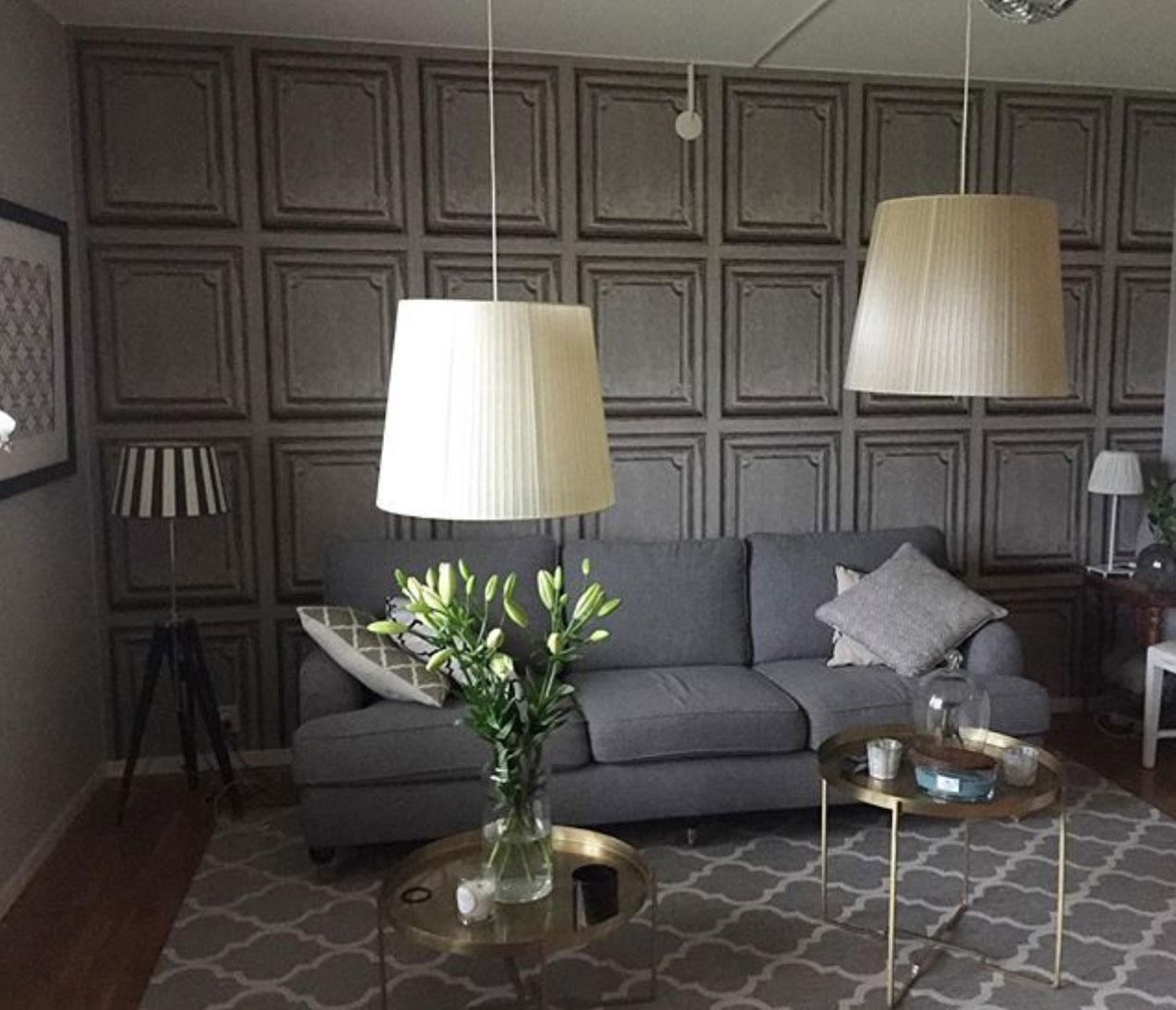 panelväggar vardagsrum träpanel midbec tapeter Im_et Maya