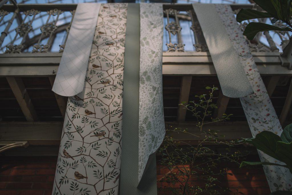 Morgongåva fotoskola ljus midbec tapeter
