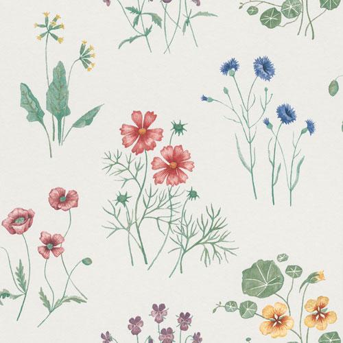 Tapetsera dina väggar med blommor 27023
